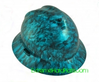 Extreme Hardhats Reaper Blue Candy Skulls Hard Hat