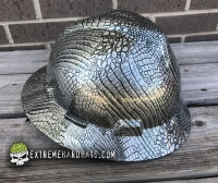 Extreme Hardhats Gator Skin Alligator Crocodile Skin Animal Extreme Hard Hat