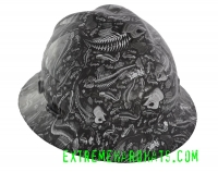 Extreme Hardhats Reaper H20 Fish Skeletons Hard Hat
