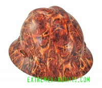 Extreme Hardhats Inferno Devil Flames Fire Smoke Hard Hat