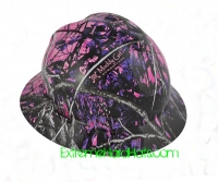 Extreme Hardhats Muddy Girl Moonshine Camo Hard Hat